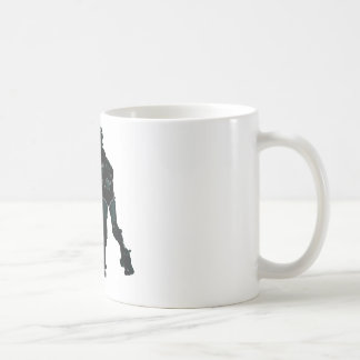 Roller Derby Girls Classic White Coffee Mug