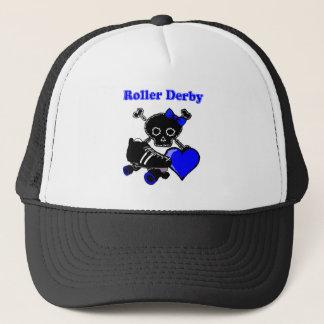 Roller Derby Heart (Blue) Trucker Hat