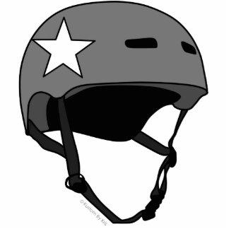 Roller Derby Helmet Photo Sculpture Keychain