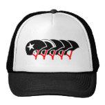 Roller Derby helmets (black design) Trucker Hat