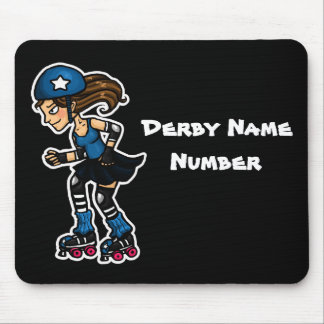 Roller Derby Jammer Customisable Mouse Pad