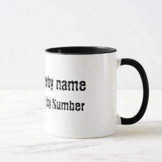 Roller Derby Jammer Customisable Mug