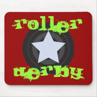 Roller Derby Jammer Mousepads