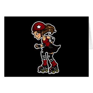 Roller Derby Jammer red Card