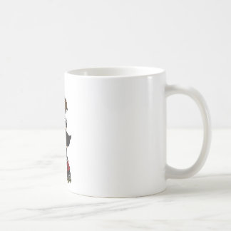 Roller Derby Jammer red Classic White Coffee Mug