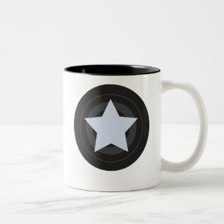 Roller Derby Jammer Two-Tone Coffee Mug