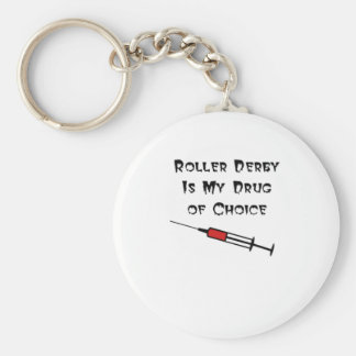 Roller Derby Key chain