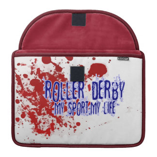Roller Derby: My Sport, My Life! Sleeve For MacBook Pro