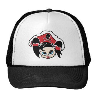 Roller Derby Pirate Cap Trucker Hat