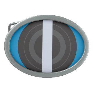 Roller Derby Pivot Oval Belt Buckle
