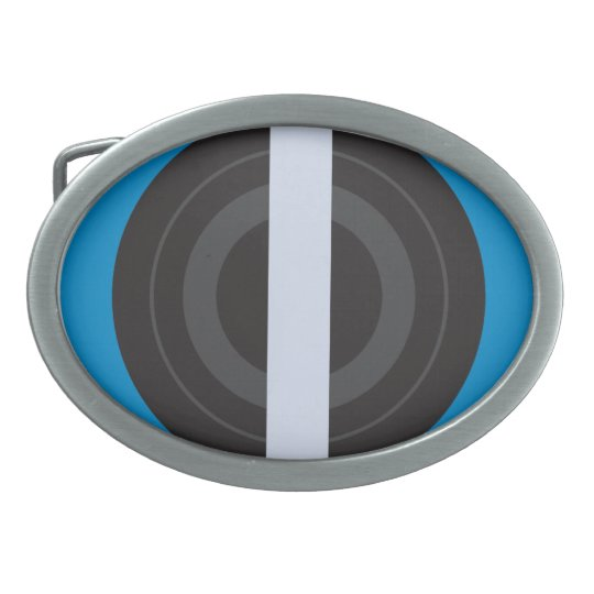 Roller Derby Pivot Oval Belt Buckle