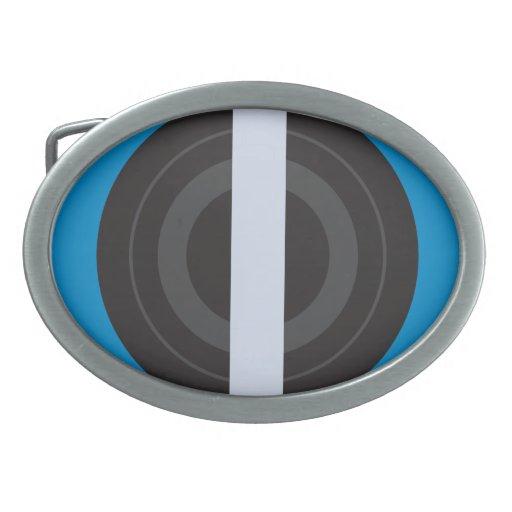 Roller Derby Pivot Oval Belt Buckles