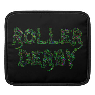 Roller Derby Players iPad Sleeve