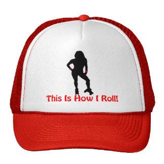 Roller Derby Roll Trucker Hat
