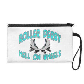 Roller Derby Roller Skating Wristlet