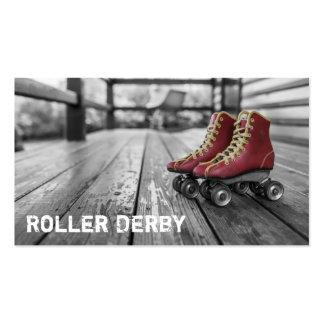 Roller Derby, Rollerskates, Photo Business Card
