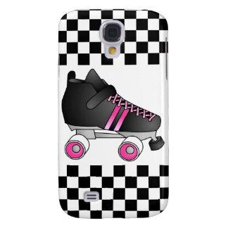 Roller Derby Skate Black and Pink Samsung S4 Case