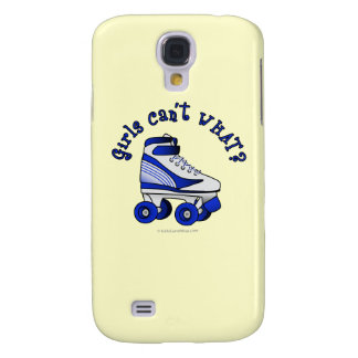 Roller Derby Skate - Blue Galaxy S4 Case