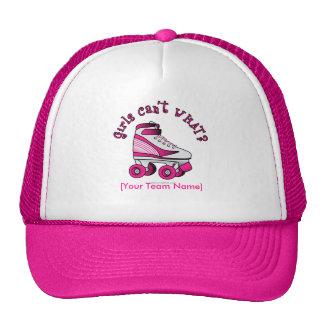 Roller Derby Skate - Pink Trucker Hat