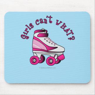 Roller Derby Skate - Pink Mouse Pad