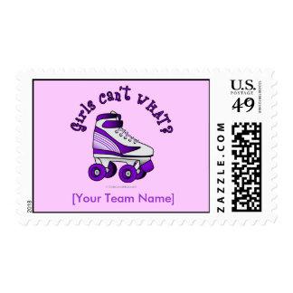 Roller Derby Skate - Purple Postage