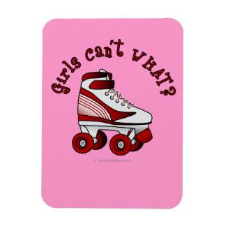 Roller Derby Skate - Red Magnet