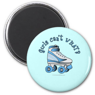 Roller Derby Skate - Sky Blue Magnet