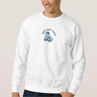 Roller Derby Skate - Sky Blue Pull Over Sweatshirt
