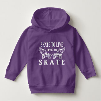 Roller Derby, Skate to Live, Live to Skate Hoodie