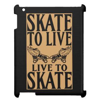 Roller Derby, Skate to Live Live to Skate iPad Case