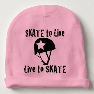 Roller Derby, Skate to Live Live to Skate, Jammer Baby Beanie
