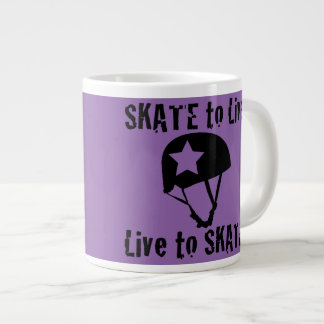 Roller Derby, Skate to Live Live to Skate, Jammer Giant Coffee Mug