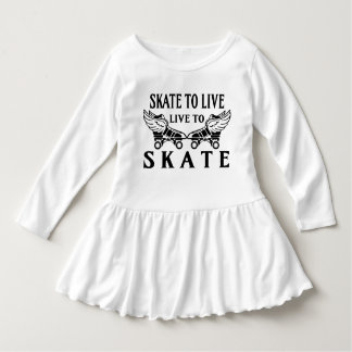 Roller Derby, Skate to Live, Live to Skate T-shirts