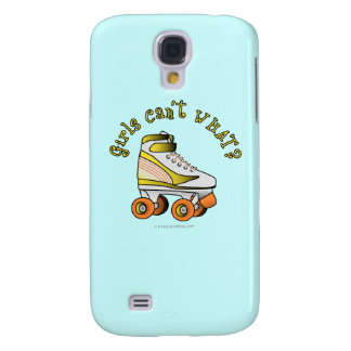 Roller Derby Skate - Yellow Galaxy S4 Cover