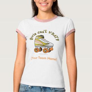 Roller Derby Skate - Yellow T-Shirt