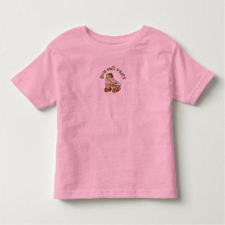 Roller Derby Skate - Yellow Toddler T-shirt