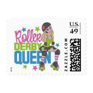 roller derby stamp