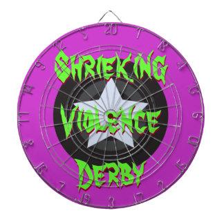 Roller Derby Star - Custom Dart Boards