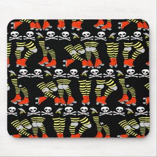 Roller Derby stripe mousepad