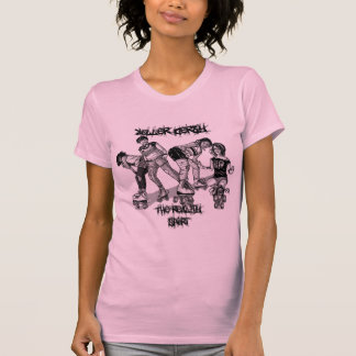 Roller Derby -  The Reality Sport Tee Shirt