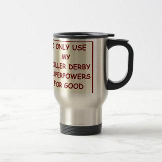 roller derby travel mug