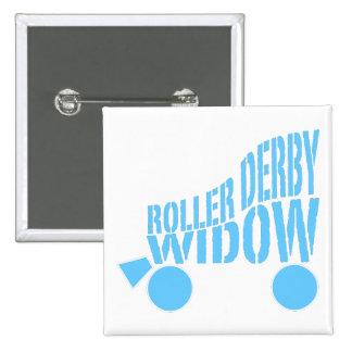 Roller Derby Widow Pinback Button