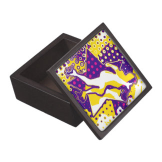 Roller Derby Woman Abstract Premium Gift Box