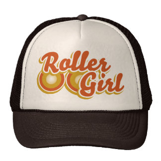 Roller Girl in the Derby Trucker Hat