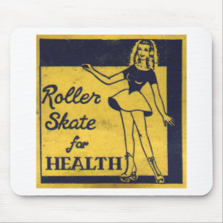 Roller Girl Mouse Pad