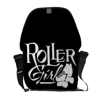 Roller Girl, Roller Derby Messenger Bag