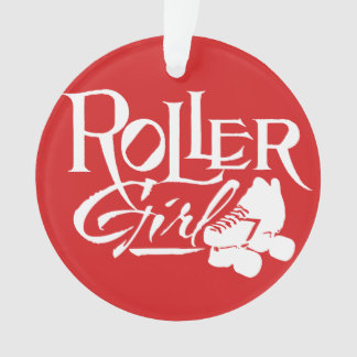 Roller Girl, Roller Derby Ornament