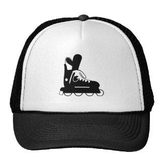 Roller Hockey Skate Trucker Hat