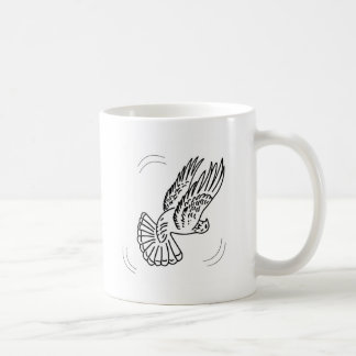 Roller Pigeon in Action Classic White Coffee Mug