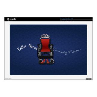 """Roller Queen 17"""" Laptop Decals"""